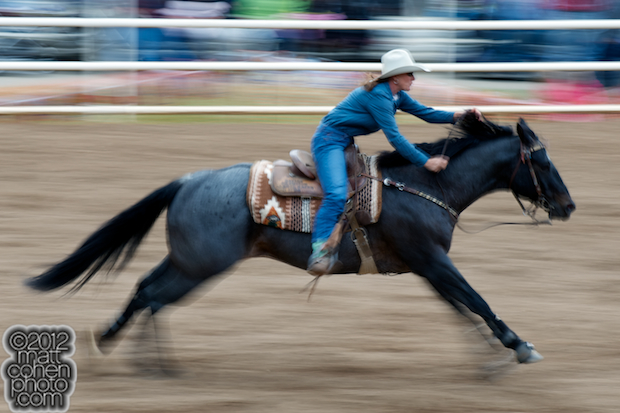 2012 Wrangler National Finals Rodeo Qualifiers: Barrel Racing - Trula Churchill