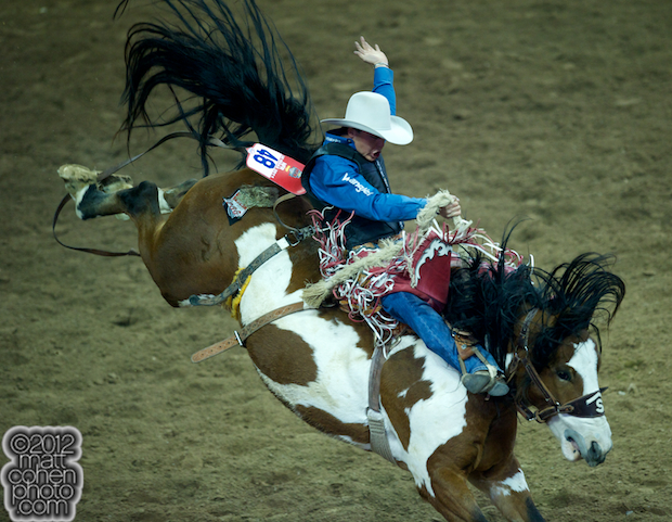 2012 Wrangler National Finals Rodeo Qualifiers: Saddle Bronc - Jesse Wright