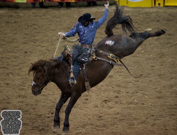 2012 Wrangler National Finals Rodeo Qualifiers: Saddle Bronc - Wade Sundell