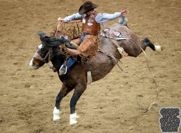 2012 Wrangler National Finals Rodeo Qualifiers: Saddle Bronc - Cody DeMoss