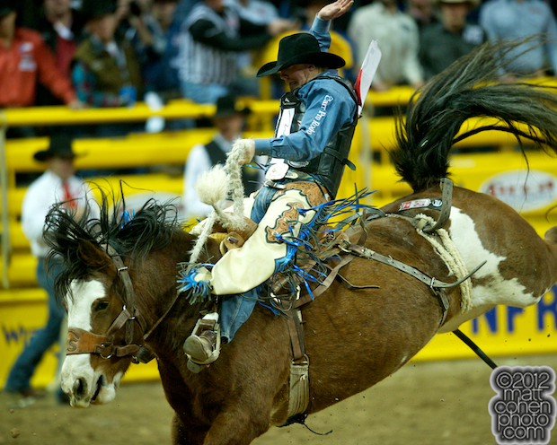 2012 WNFR: Wrangler National Finals Rodeo Qualifiers: Saddle