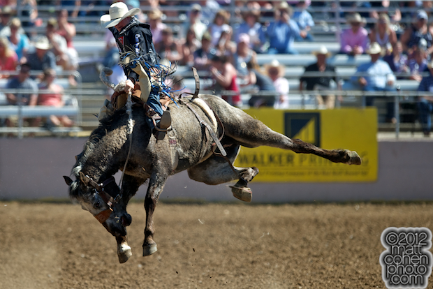 2012 Wrangler National Finals Rodeo Qualifiers: Saddle Bronc - Taos Muncy