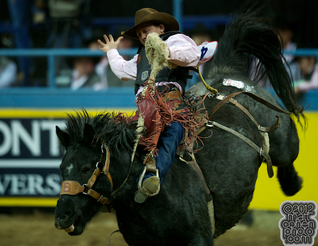 2012 Wrangler National Finals Rodeo Qualifiers: Saddle Bronc - Cody Wright