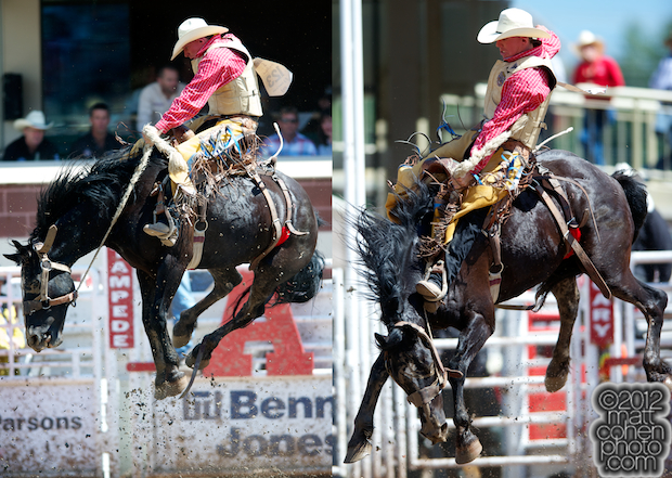 2012 Wrangler National Finals Rodeo Qualifiers: Saddle Bronc - Cody Taton