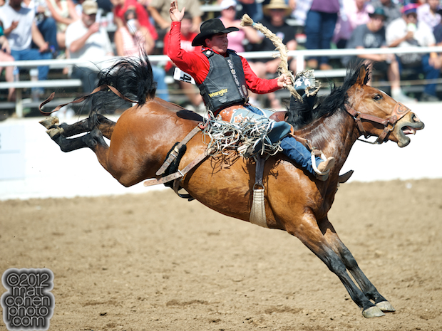 2012 Wrangler National Finals Rodeo Qualifiers: Saddle Bronc - Jake Wright