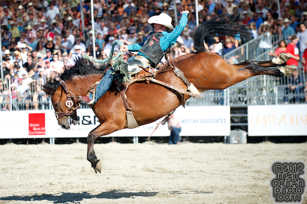 2012 Wrangler National Finals Rodeo Qualifiers: Saddle Bronc - Jacobs Crawley