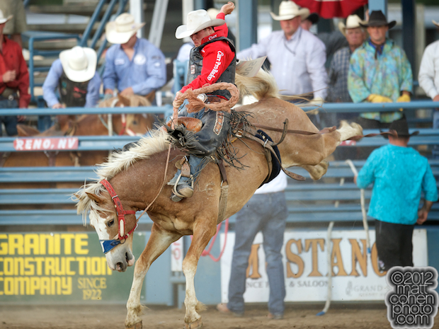 2012 Wrangler National Finals Rodeo Qualifiers: Saddle Bronc - Cort Scheer