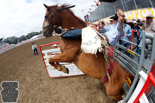2012 Wrangler National Finals Rodeo Qualifiers: Saddle Bronc - Sterling Crawley