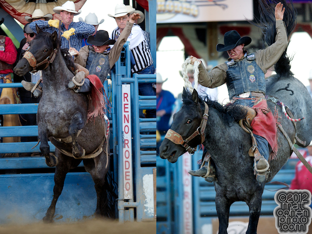 2012 Wrangler National Finals Rodeo Qualifiers: Saddle Bronc - Cole Elshere