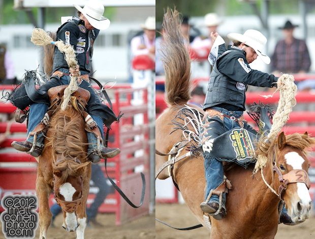 2012 Wrangler National Finals Rodeo Qualifiers: Saddle Bronc - Bradley Harter
