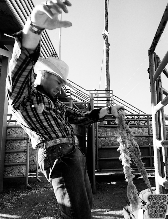 2012 Wrangler National Finals Rodeo Qualifiers: Saddle Bronc - Tyrell Smith