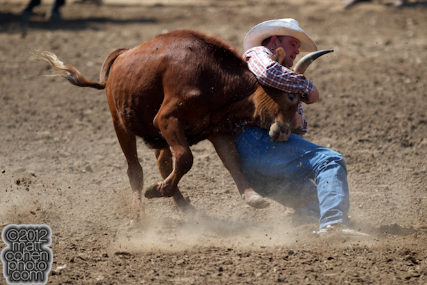 2012 Wrangler National Finals Rodeo Qualifiers: Steer Wrestling - Wade Sumpter