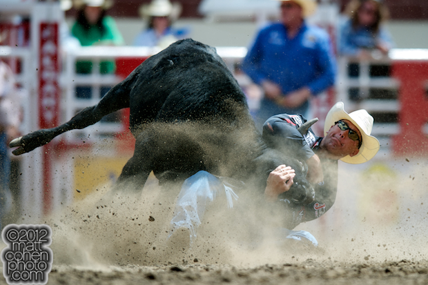 2012 Wrangler National Finals Rodeo Qualifiers: Steer Wrestling - Dean Gorsuch