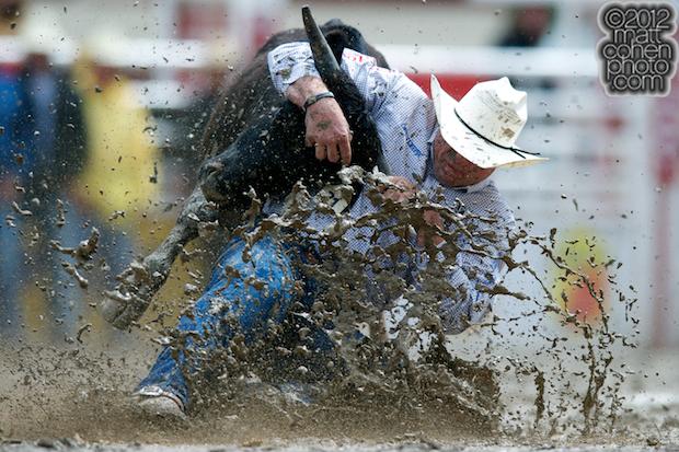 2012 Wrangler National Finals Rodeo Qualifiers: Steer Wrestling - Matt Reeves