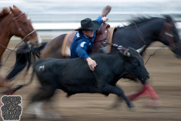 2012 Wrangler National Finals Rodeo Qualifiers: Steer Wrestling - Trevor Knowles