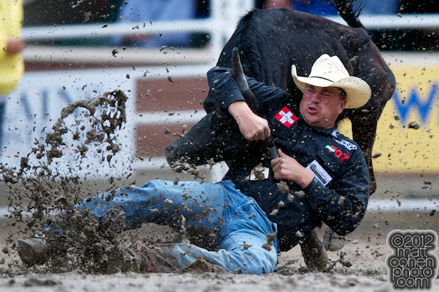 2012 Wrangler National Finals Rodeo Qualifiers: Steer Wrestling - Todd Suhn