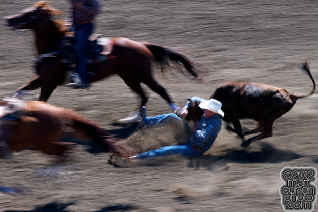 2012 Wrangler National Finals Rodeo Qualifiers: Steer Wrestling - Billy Bugenig
