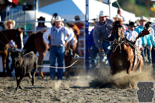 2012 Wrangler National Finals Rodeo Qualifiers: Tie-Down Roping - Justin Maass