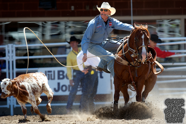 2012 Wrangler National Finals Rodeo Qualifiers: Tie-Down Roping - Tuf Cooper