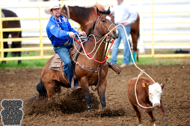 2012 Wrangler National Finals Rodeo Qualifiers: Tie-Down Roping - Hunter Herrin