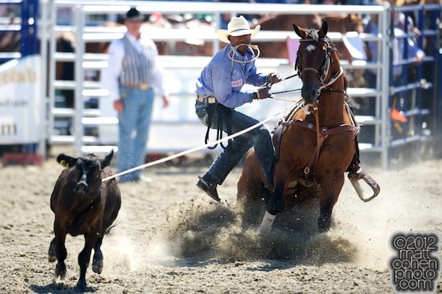 2012 Wrangler National Finals Rodeo Qualifiers: Tie-Down Roping - Cory Solomon