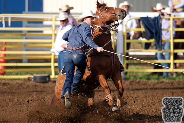 2012 Wrangler National Finals Rodeo Qualifiers: Tie-Down Roping - Monty Lewis