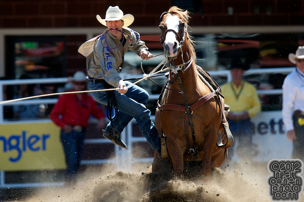 2012 Wrangler National Finals Rodeo Qualifiers: Tie-Down Roping - Shane Hanchey