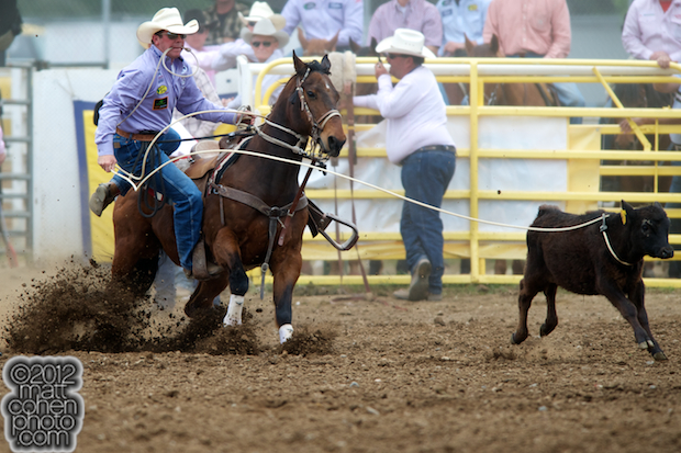 2012 Wrangler National Finals Rodeo Qualifiers: Tie-Down Roping - Ryan Jarrett