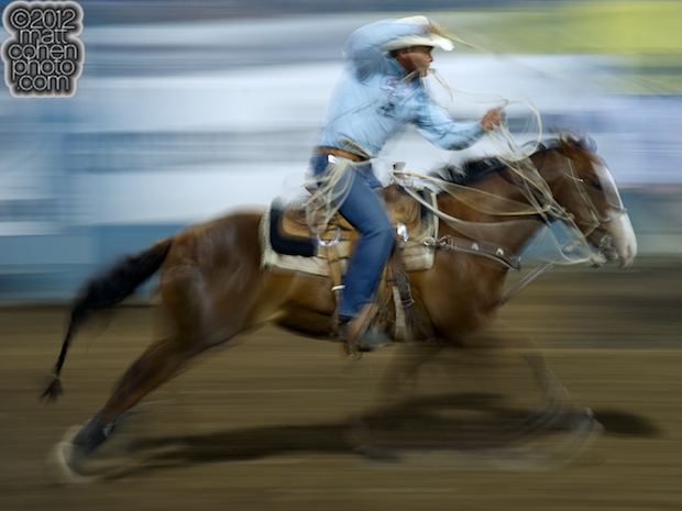 2012 Wrangler National Finals Rodeo Qualifiers: Tie-Down Roping - Matt Shiozawa