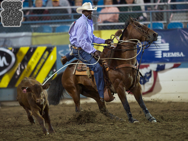 2012 Wrangler National Finals Rodeo Qualifiers: Tie-Down Roping - Fred Whitfield
