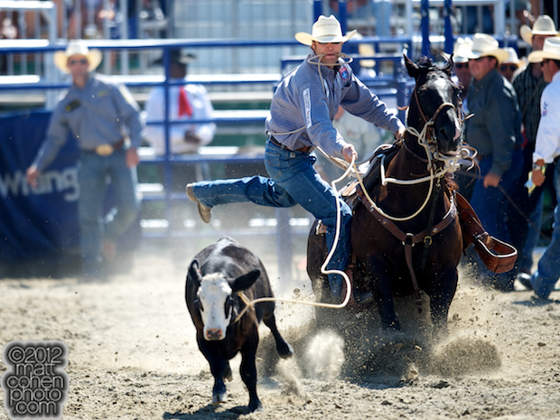 2012 Wrangler National Finals Rodeo Qualifiers: Tie-Down Roping - Adam Gray