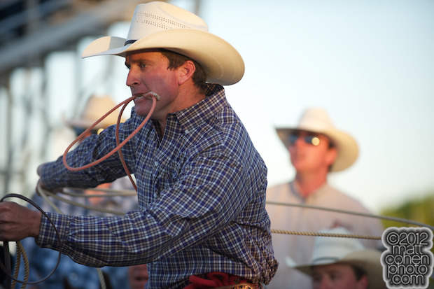 2012 Wrangler National Finals Rodeo Qualifiers: Tie-Down Roping - Bradley Bynum