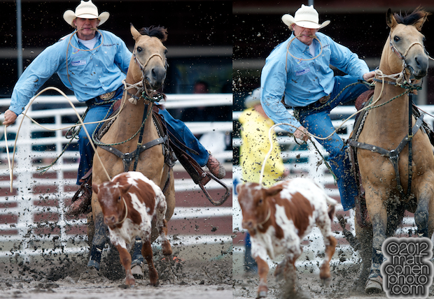 2012 Wrangler National Finals Rodeo Qualifiers: Tie-Down Roping - Clif Cooper