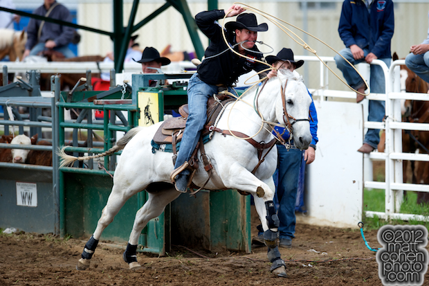 2012 Wrangler National Finals Rodeo Qualifiers: Team Roping - Trevor Brazile
