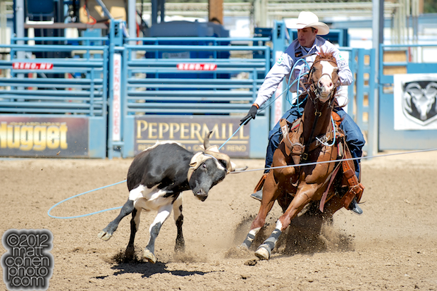 2012 Wrangler National Finals Rodeo Qualifiers: Team Roping - Patrick Smith
