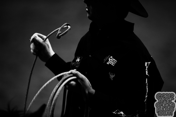 2012 Wrangler National Finals Rodeo Qualifiers: Team Roping - Spencer Mitchell