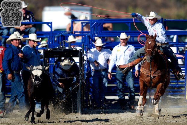2012 Wrangler National Finals Rodeo Qualifiers: Team Roping - Turtle Powell