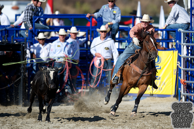 2012 Wrangler National Finals Rodeo Qualifiers: Team Roping - Colby Lovell