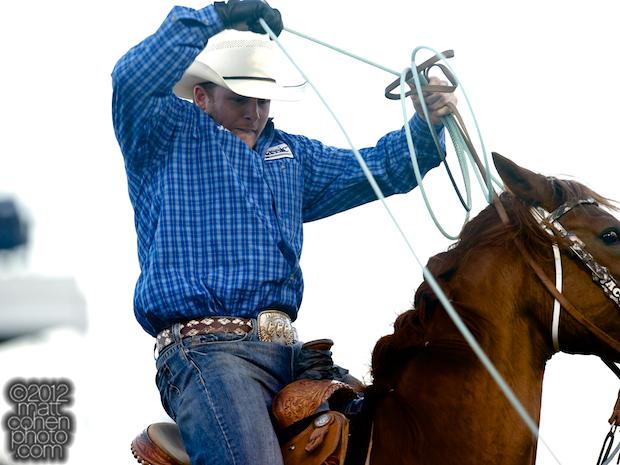 2012 Wrangler National Finals Rodeo Qualifiers: Team Roping - Jim Ross Cooper