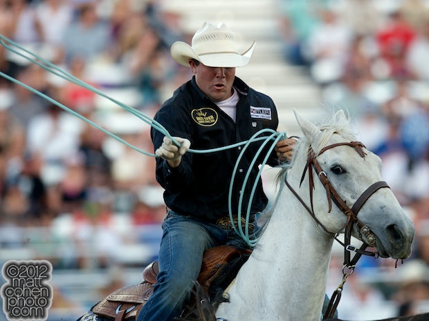 2012 Wrangler National Finals Rodeo Qualifiers: Team Roping - Paul Eaves