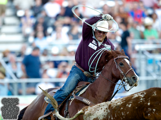2012 Wrangler National Finals Rodeo Qualifiers: Team Roping - Martin Lucero