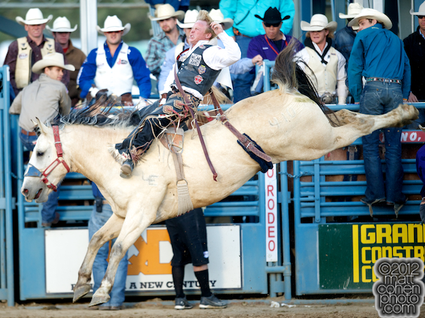 2012 National Finals Rodeo - Bareback Stock - Comanchero of Flying U Rodeo Co