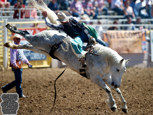 2012 National Finals Rodeo - Bareback Stock - Wild & Blue of Growney Brothers Rodeo Co