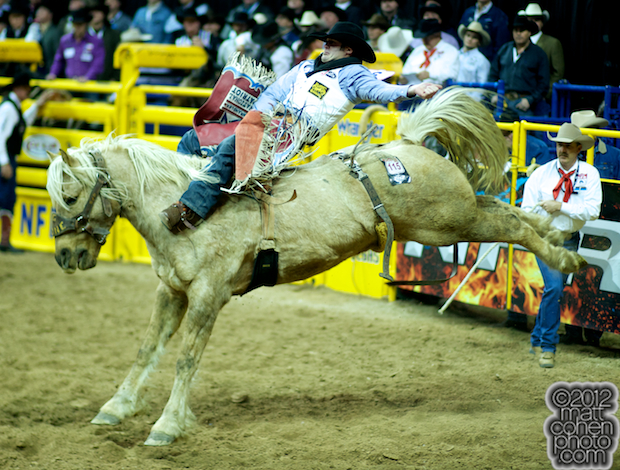 2012 National Finals Rodeo - Bareback Stock - Gold Dust of Big Stone Rodeo