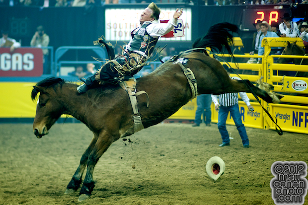 2012 National Finals Rodeo - Bareback Stock - Angel Dust of Burch Rodeo Co.