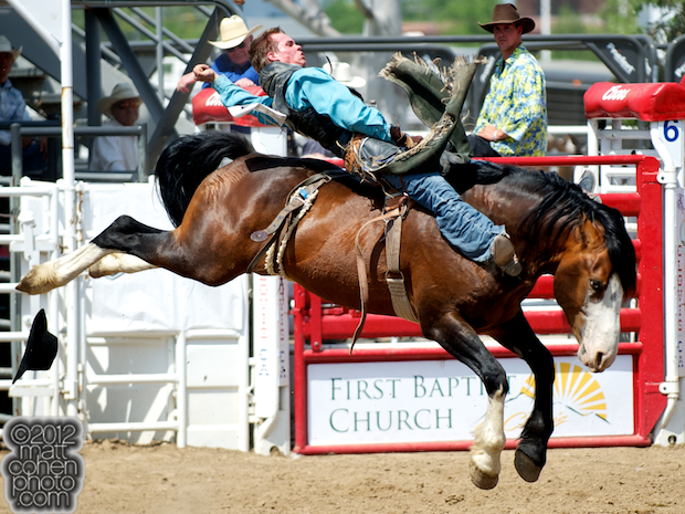 2012 National Finals Rodeo - Bareback Stock - Friendly Fire of Burch Rodeo Co