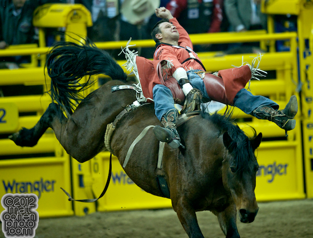 2012 National Finals Rodeo - Bareback Stock - Wonderland of Beutler & Son Rodeo