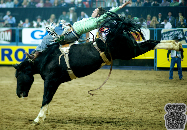 2012 National Finals Rodeo - Bareback Stock - Forward Motion of Beutler & Son Rodeo