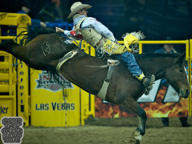 2012 National Finals Rodeo - Bareback Stock - Alberta Child of Carr Pro Rodeo.