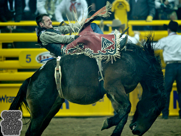 2012 National Finals Rodeo - Bareback Stock - Real Deal of Carr Pro Rodeo